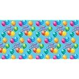 "Printed Gift Wrap 30"" Wide 5 Foot Roll-Birthday Jubilee"