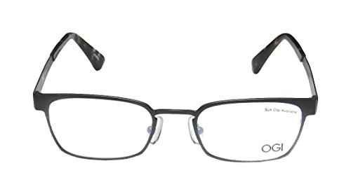 [Ogi 2244 Mens/Womens Rx Ready Collectible Designer Full-rim Eyeglasses/Eye Glasses (48-19-145,] (Android 17 And 18 Costumes)