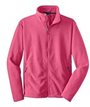Port Authority Youth Value Fleece Jacket, Pink Blossom, M