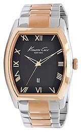Kenneth Cole Bracelet Collection Black Dial Men's Watch #KC9050
