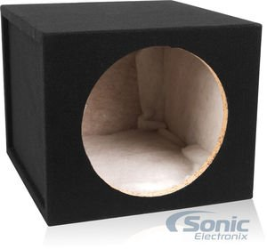 Belva 12-inch Car Subwoofer Box Sealed 3/4-inch MDF Prelined Polyfil [MDFS1215] (Sealed Subwoofer Enclosure compare prices)