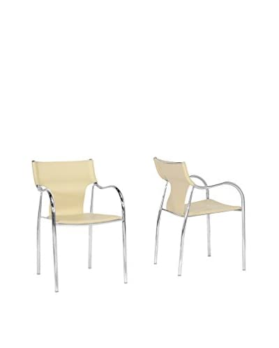 Baxton Studio Set of 2 Harris Dining Chairs