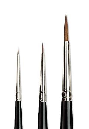 da Vinci Brushes 3 Brush Gift Set (Color: Black, Tamaño: 00000/0/4)