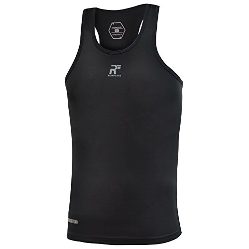 RunFlyte Men's Flyte Compression Lightweight Athletic Sleeveless Tank Top - Base Layer (Size S) (Mens Wet Look Tank Top compare prices)
