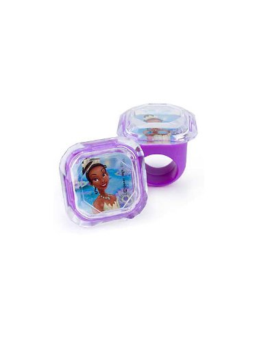 Princess And The Frog Jewel Ring (4-pack) - 1