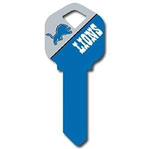 Kwikset NFL Key - Detroit Lions