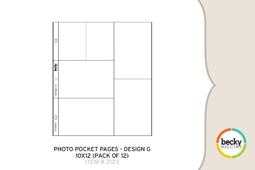 Photo Pocket Pages  Design G Picture