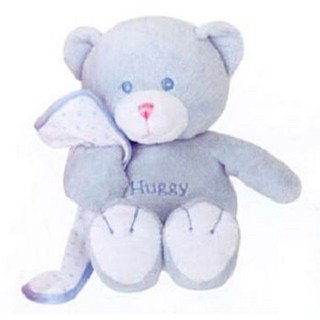 Blue Huggy Bear with Blanky 10