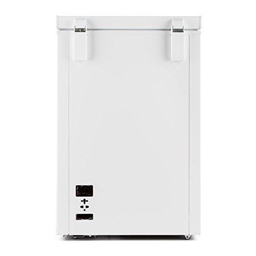 Klarstein iceblokk cong lateur coffre autonome de 100l 4 toiles de classe - Congelateur 4 etoiles ...