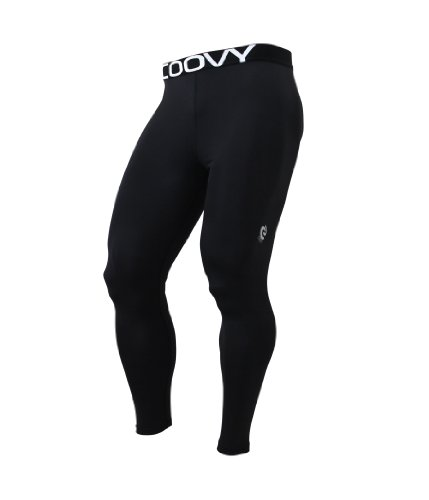 COOVY Sports Base Layer Leggings Skin Tights Running Training Basketball Pants