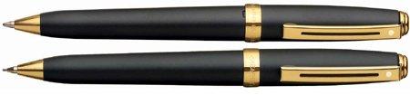 Sheaffer Prelude Black Matte /GT .7mm Pen & Pencil Set - SH-346-9 (Sheaffer Prelude Gt compare prices)