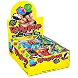 Topps Ring Pop Fruit Fest Pop Candy - 24/Box