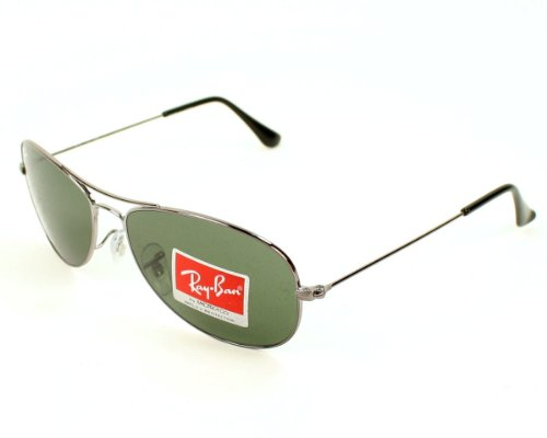 Ray Ban Cockpit S, silber anthrazit