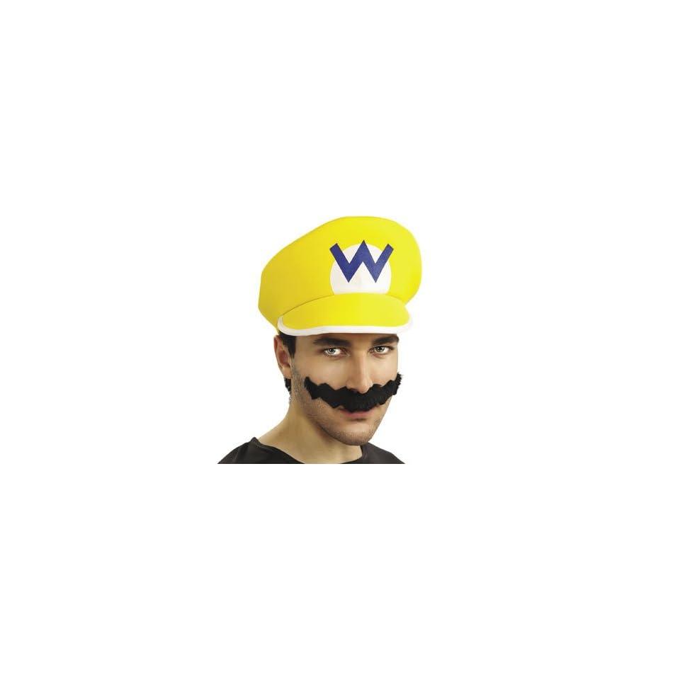 Super Mario Wario Costume Kit   Costume Accessories & Costume Props & Kits