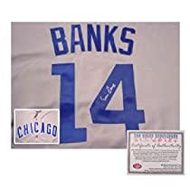 Ernie Banks Autographed Uniform - Authentic - Autographed MLB Jerseys