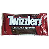 Twizzlers Chocolate Twists, 12-Ounce Bag (Pack of 12)