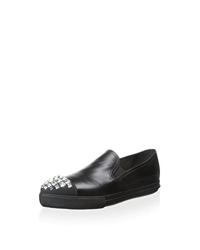 Miu Miu Women's Leather Sneaker