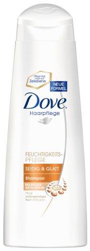 Dove - Shampoo lisci e setosi, 250 ml, 6 pz. (6 x 200 ml)