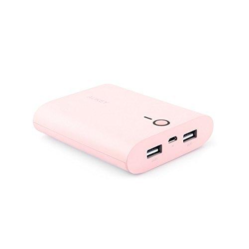 <p><b>Aukey® 10000mAh postre alta capacidad de energía móvil.</b>  <br>  <b>Adecuada a su alcance para facilitar su</p>