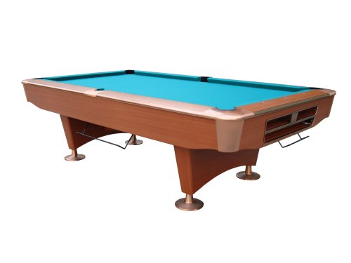 Playcraft Southport 8' institutional slate pool / billiards table - drop pocket