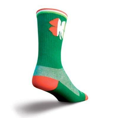 Buy Low Price SockGuy Crew 6in Shamrock Cycling/Running Socks (B007SHUXQE)