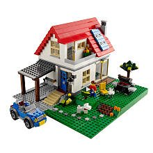 31pWQg2 SGL Reviews LEGO Creator Limited Edition Set #5771 Hillside House