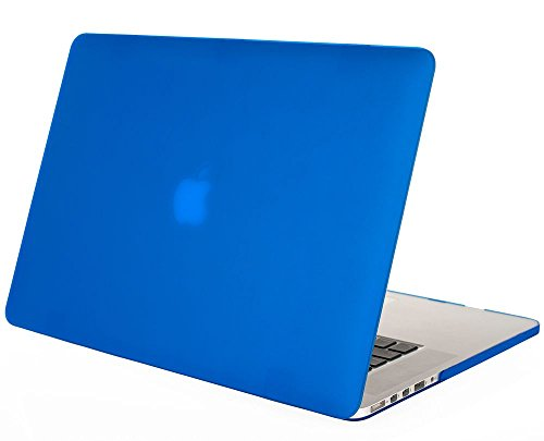 "Mosiso - Blue Retina 13-Inch Rubberized Hard Case Cover For Apple Macbook Pro 13.3"" With Retina Display A1502 / A1425 (Newest Version, No Cd-Rom Drive) (Blue)"
