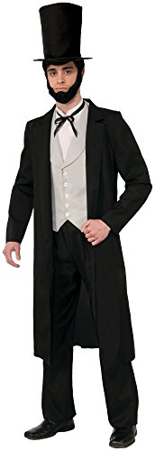 Forum Novelties Men's Abraham Lincoln Xl Deluxe Costume
