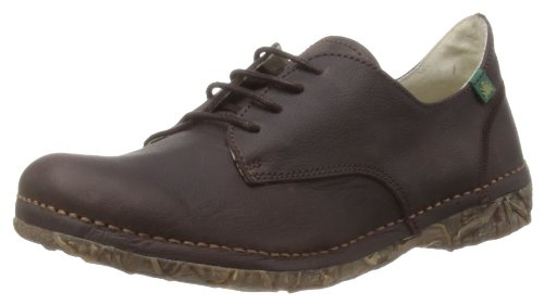 El Naturalista Womens Angkor Brown Lace-Up Flats N984 5 UK, 38 EU