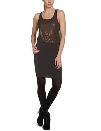 ONLY Damen Kleid (knielang) 15072313/VILDY SL DRESS, Gr. 36 (S), Schwarz (PHANTOM)