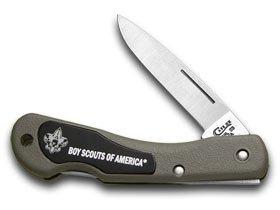 CASE XX Boy Scouts Zytel Mini Blackhorn Pocket Knife Knives