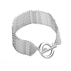 "Woman Bracelet ""Marquise"" - Collection Silver Plated - The British Bulldog Store"