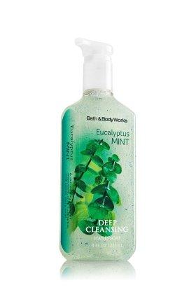 バス&ボディワークス ユーカリプタスミント ディープクレンジングハンドソープ Eucalyptus Mint Deep Cleansing hand soap