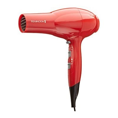 Remington D3020 Volume and Shine Hair Dryer, Red