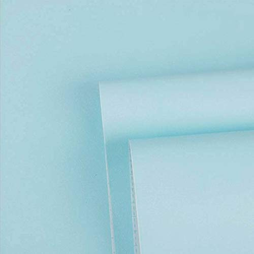 Teal Contact Paper Teal Peel and Stick Wallpaper Decorative Wallpaper for Cabinets Self Adhesive Wallpaper Removable Teal Shelf Drawer Liner Vinyl Film Roll 17.7x78.7 (Color: Teal, Tamaño: 17.7x78.7)