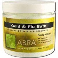 Abra Herbal Hydrotherapy Therapeutic Baths, 17 Oz Jar, Cold & Flu