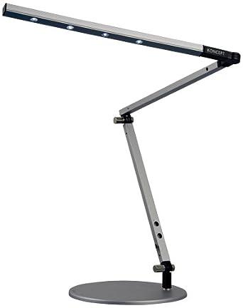 Koncept Z-Bar Mini High Power Daylight LED Silver Desk Lamp