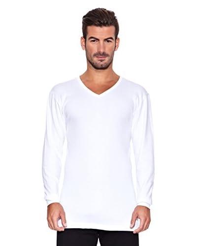 Rochas París Camiseta Manga Larga Blanco