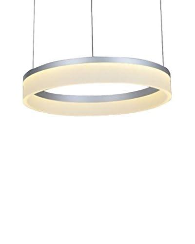 Licht Co. hanglamp ring wit / grijs