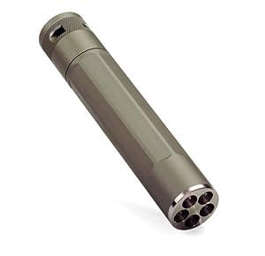 Inova X5MT-WT X5 Lithium Powered 5-LED Flashlight, Titanium