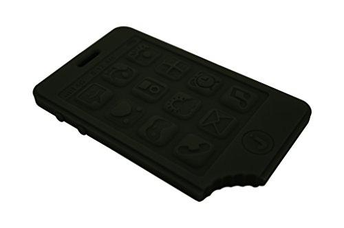 Jellystone Designs jChews Smart Phone Teether - Smoke Black