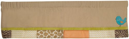 Carter's Wildlife Valance, Beige (Discontinued by Manufacturer) - 1