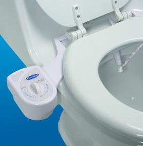 Blue Bidet BB-1000: Ambient Temperature Water Bidet, Adjustable Pressure