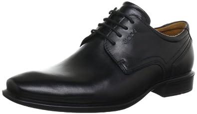 ECCO Men's Cairo Plain Toe Oxford,Black,47 EU/13-13.5 M US