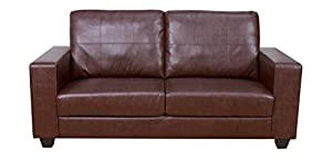 Annaghmore Agencies Queensbury Brown 3 Seater Sofa from Annaghmore Agencies