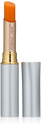 jane iredale Just Kissed Lip and Cheek Stain, Forever Peach, 0.10 oz.