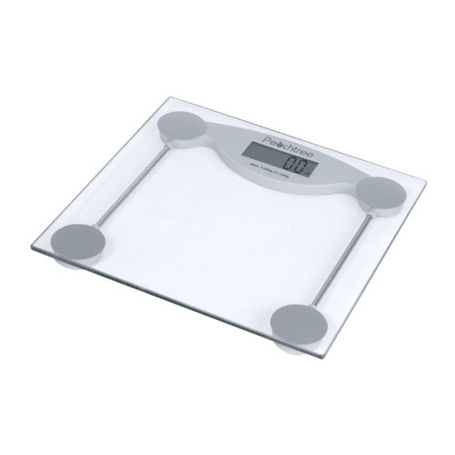 Cheap Peachtree GS-150 Tempered Glass Digital Bathroom Scale with LCD Display and 330-Pound Capacity (GS-150)