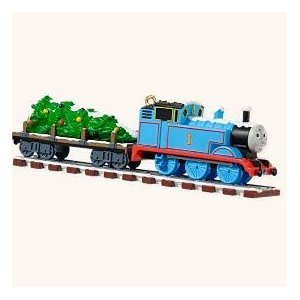 Hallmark 2008 - Thomas Tank Engine Ornament - On Track for Christmas