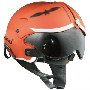 Casque GPA Aircraft Militar Orange Mat - Couleur - Orange, Taille - XL
