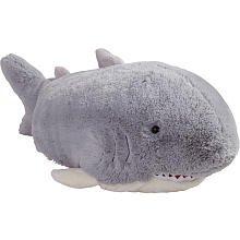 Pillow Pets Grey Pillow Pet- PeeWee Shark - 11